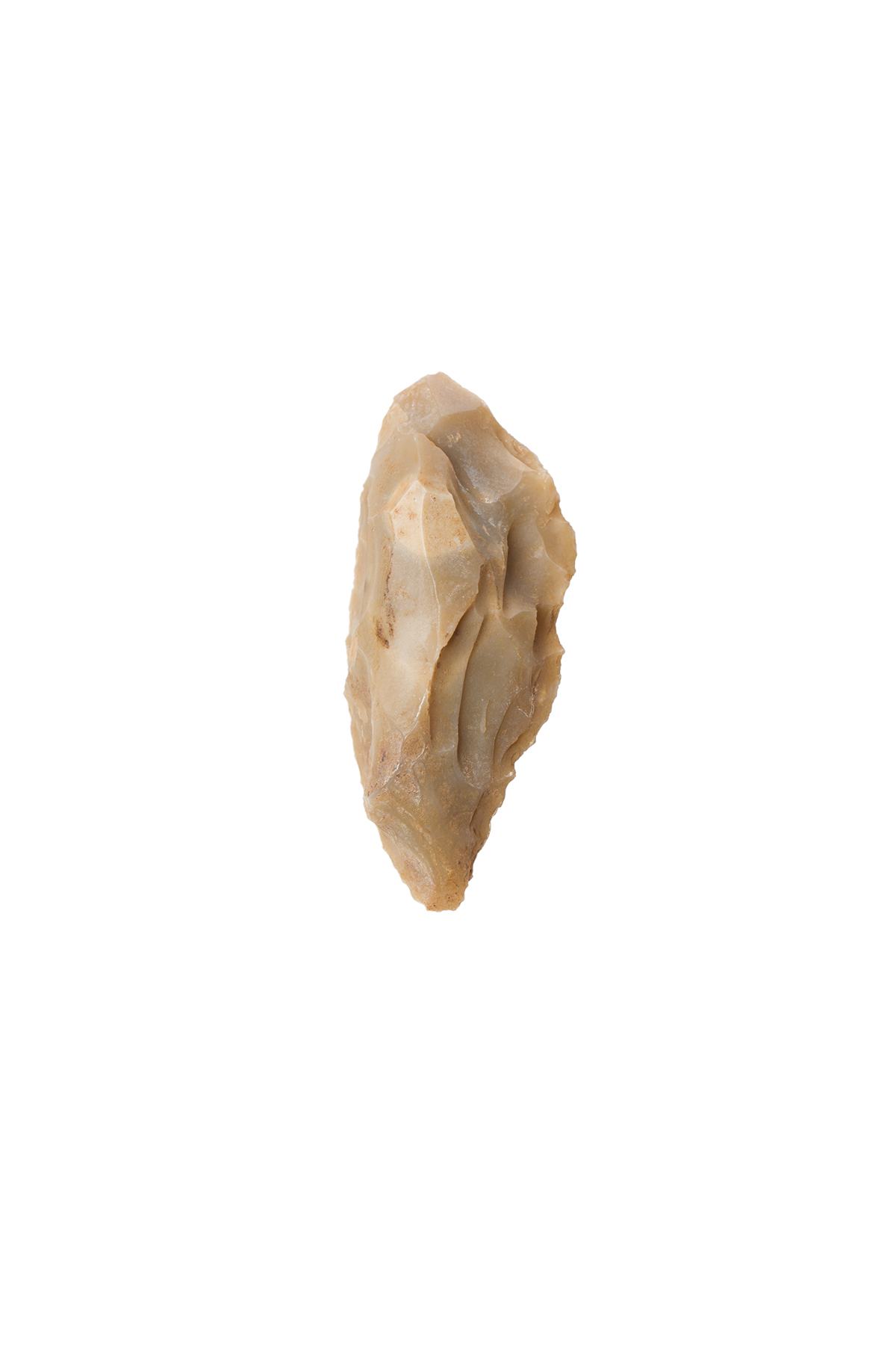 Long carenoid scraper, Bisceglie, caves S. Croce, Middle/Mousterian Palaeolithic Age