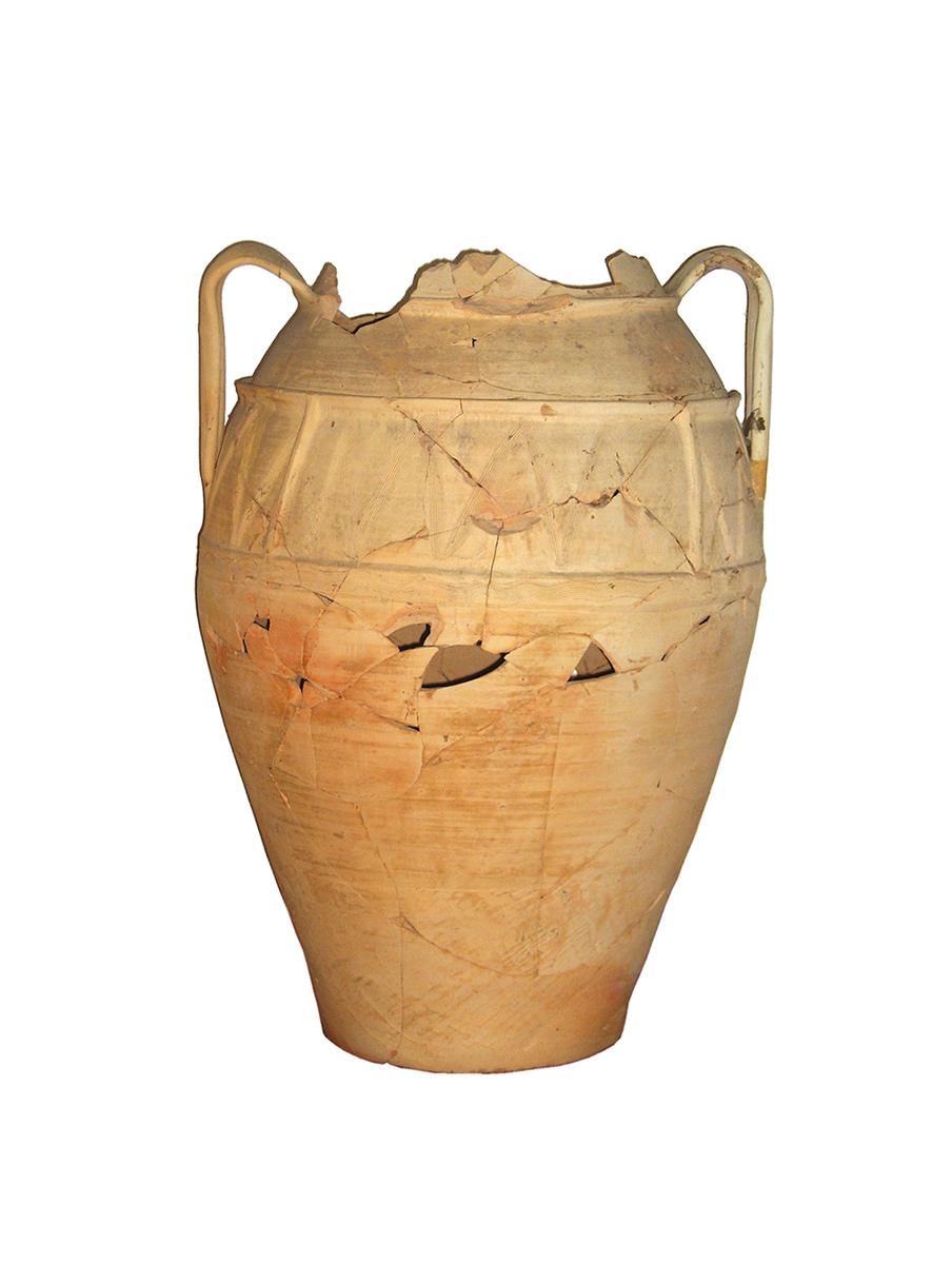 Large jar with four handles, Pulo, III Canopy, 18-19th cent.